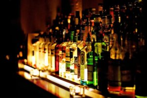 bottles at a bar drunk driving personal injury attorney